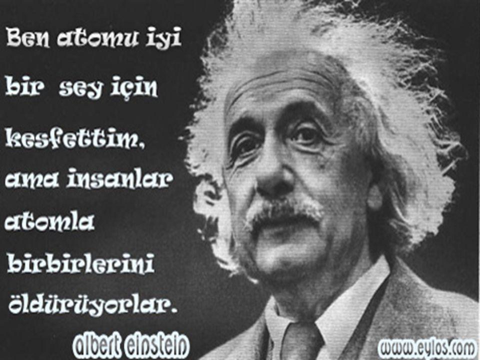 Albert Einstein'in Hayatı Einstein 1879 yılında 'nın Ulm kentinde dünyaya geldi.