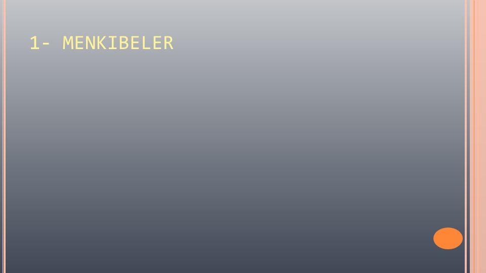 KAYNAKLAR 1.Hayatü's-Sahabe, Yusuf el-Kardavi, Akçağ Yayınları.
