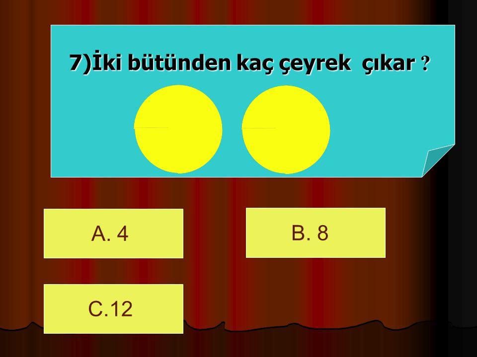 C) 4 cevap