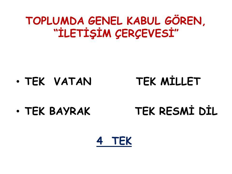 2 ) ÇAĞDAŞ VATANDAŞLIK HAKLARI TÜM VATANDAŞLARA EŞİT OLARAK VERİLECEK Çağdaş vatandaşlık hakları geldiği yer, ırk-etnik köken, anadil ve din-mezhep farkı gözetmeden tüm Türk vatandaşlarına eşit olarak verilecek.