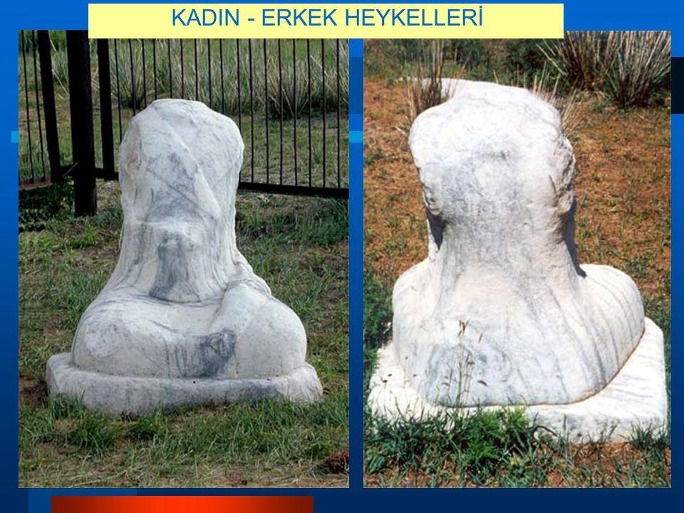 KADIN - ERKEK HEYKELLERİ
