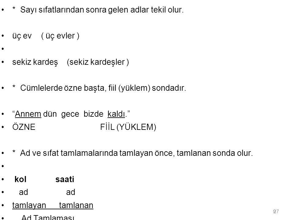 50 TÜRK YAZI DİLİNİN GELİŞMESİ Batı Türkçesinin Gelişmesi: Batı Türkçesi, kendi içinde üç döneme ayrılır.