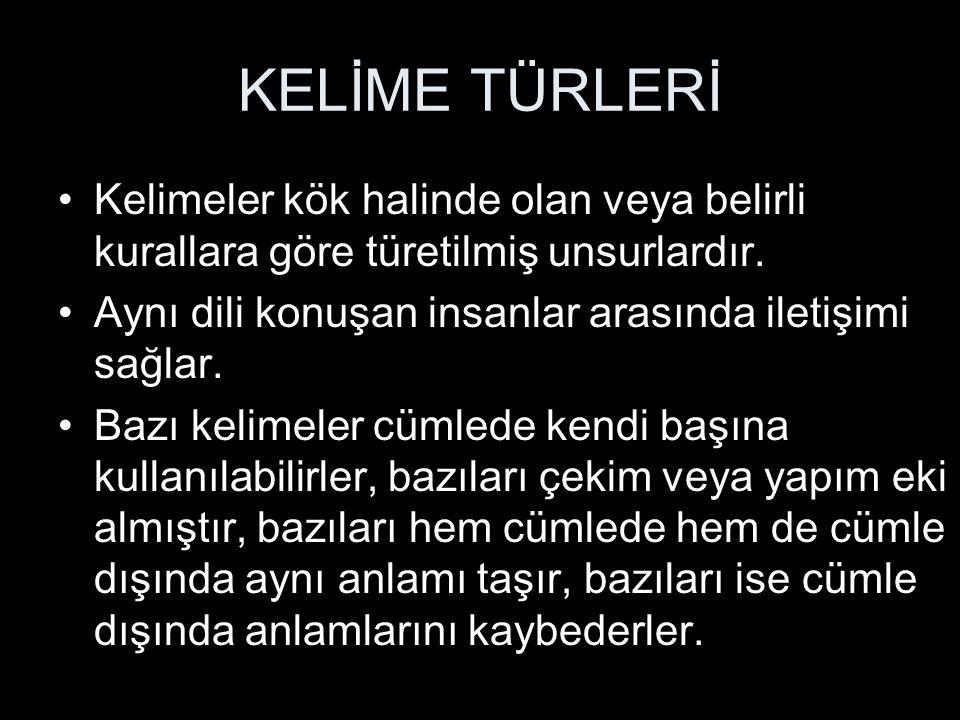 İSİMLERİN SINIFLANDIRILMASI -Millet, devlet, topluluk, kabile vb.