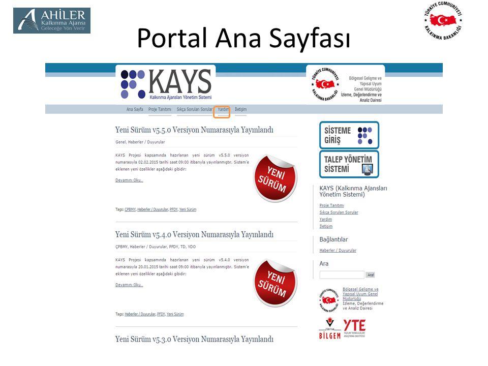 Portal Ana Sayfası