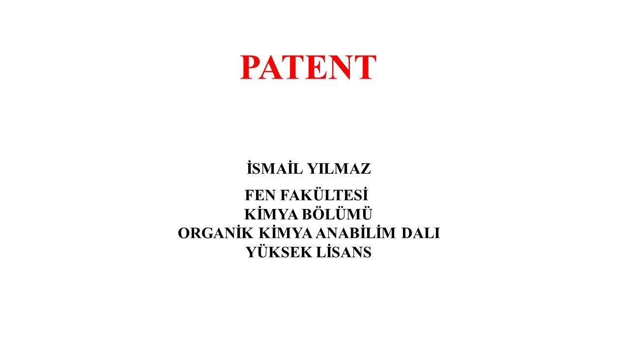 Tarihçesi Patent verme uygulaması 15.yüzyılda İtalya'da başladı.