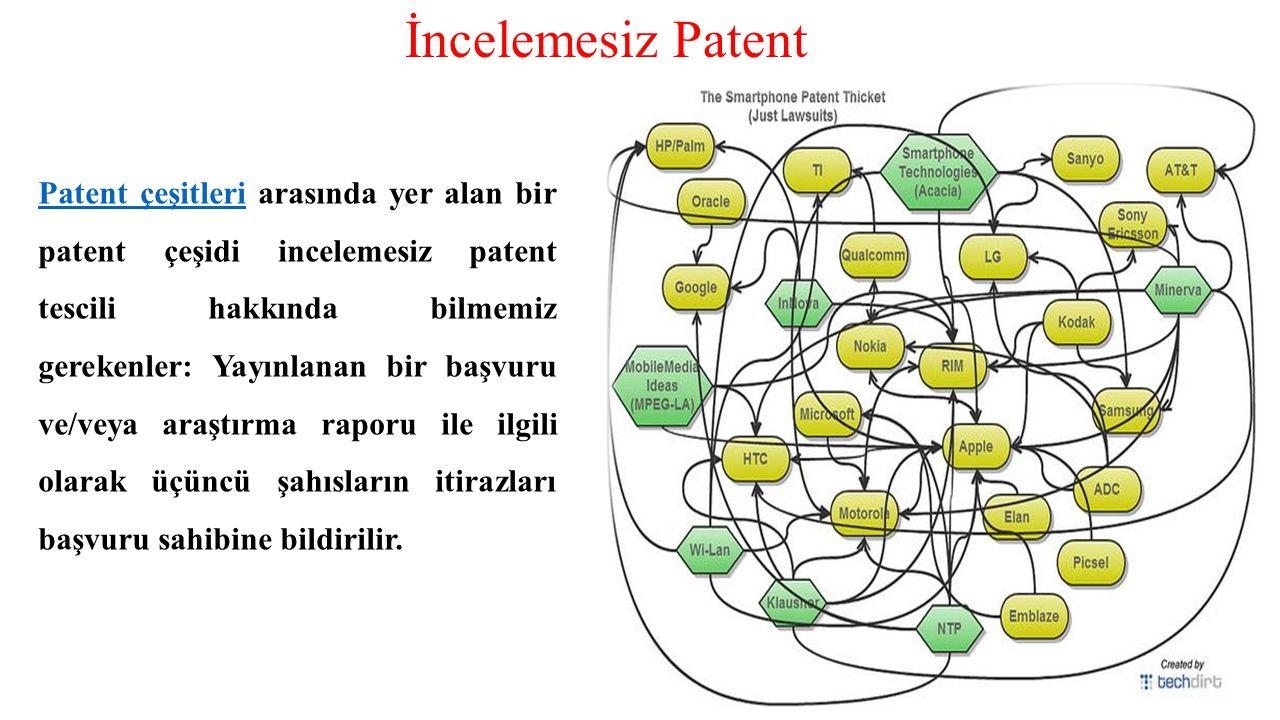 Patent çeşitleriPatent çeşitleri arasında yer alan bir patent çeşidi incelemesiz patent tescili hakkında bilmemiz gerekenler: Yayınlanan bir başvuru v