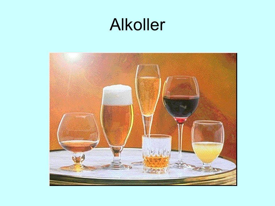 Alkoller, hidroksil (  OH) grubu içeren bileşiklerdir.