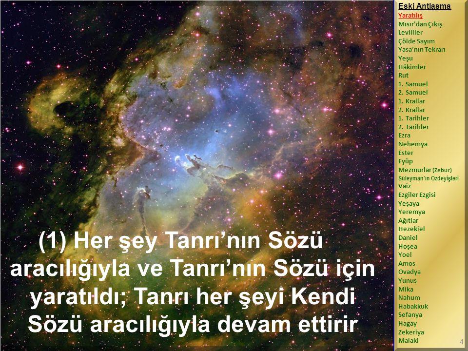 (24-28) Ama İsrailoğulları Tanrı'ya güvenmedi, O'na itaat etmedi.
