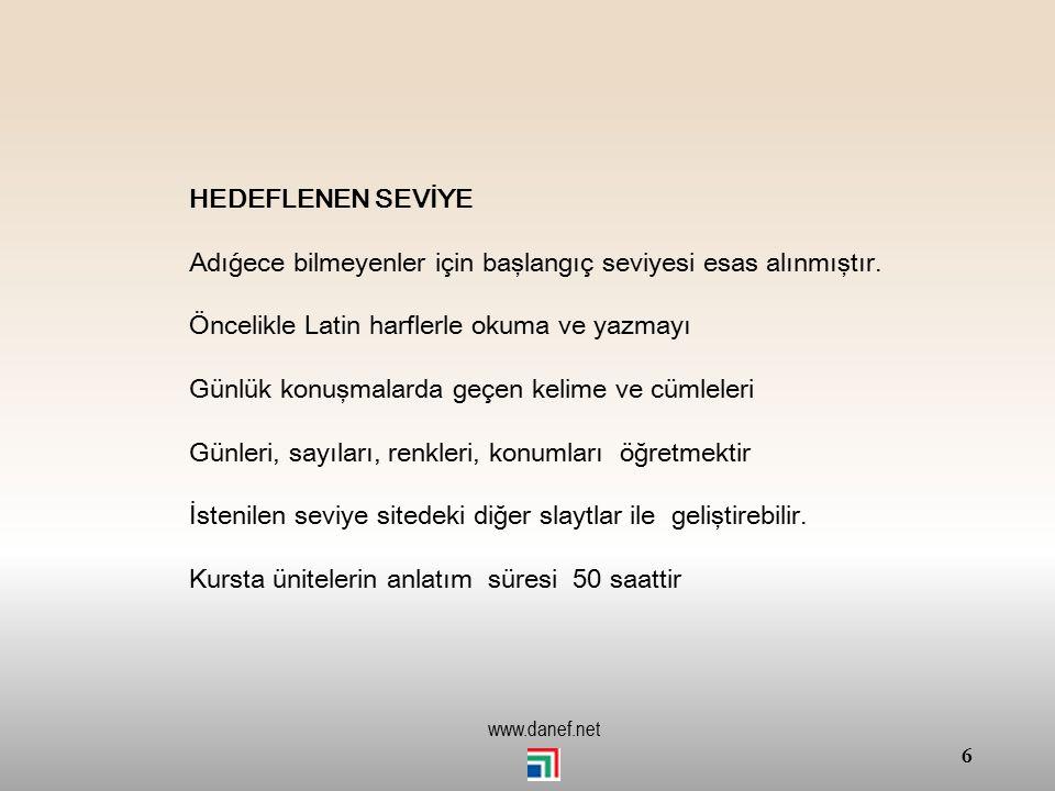 5 www.danef.net TİBZE ZETEĞAŞ`E Yaperıye yeğeja ṕ - Başlangıç seviviyesi - Beginner level