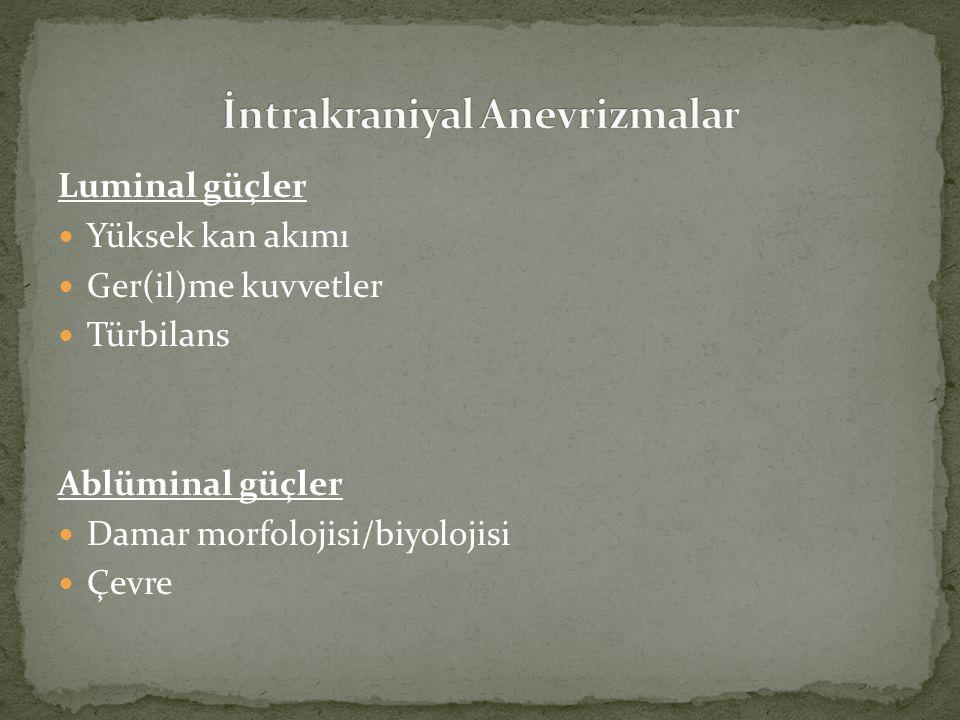 İntima (endotel, subendotel bağ dokusu) İnternal elastik lamina (mekanik güç) Media (düz kas tabakası) Eksternal elastik lamina (fark !!!!!!!!) Adventisya (çok ince)