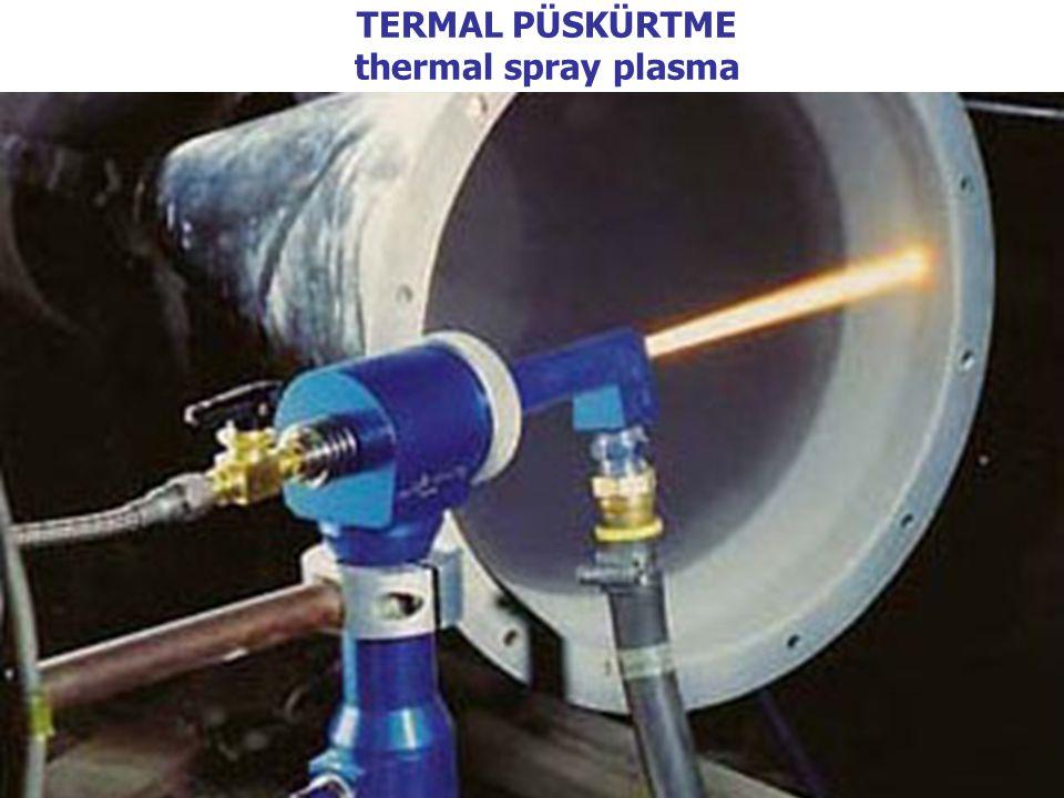 3 TERMAL PÜSKÜRTME thermal spray plasma