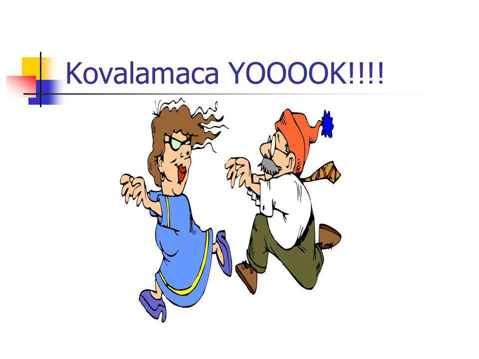 Kovalamaca YOOOOK!!!!