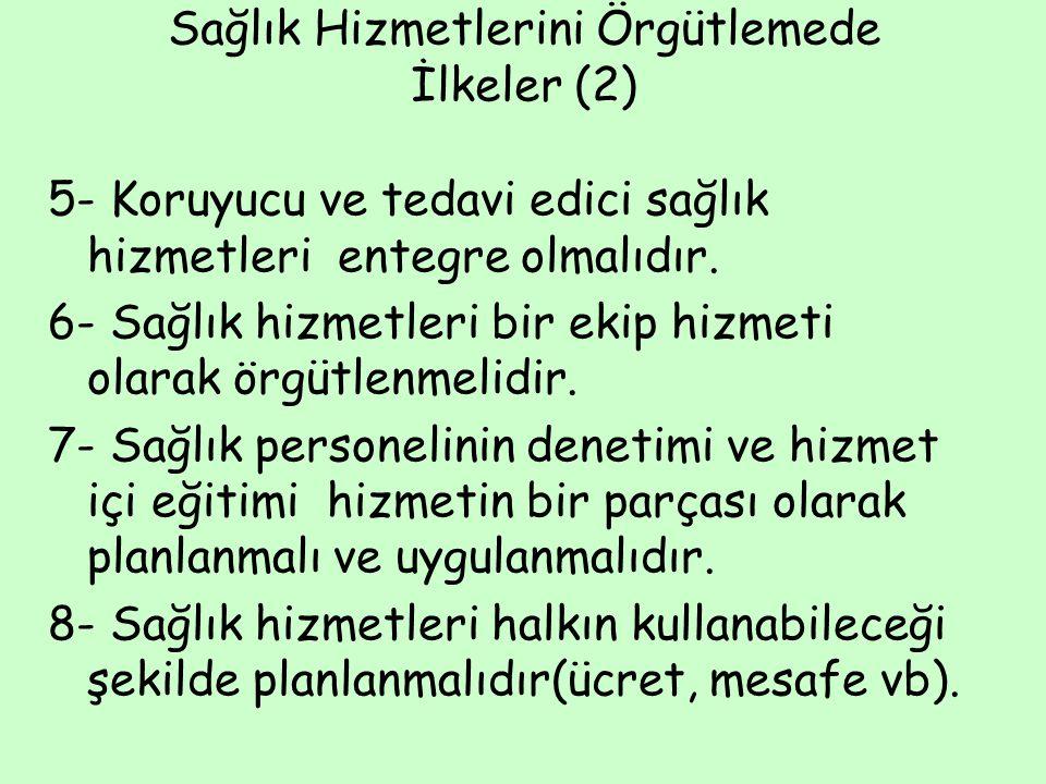 Türkiye'de Sağlık Hizmetleri Sağlık Bakanlığının kuruluşu 3 Mayıs 1920 TBMM'nin ilk Sağlık Bakanı Dr.