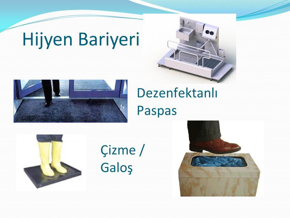 Hijyen Bariyeri Dezenfektanlı Paspas Çizme / Galoş