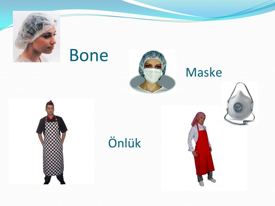 Bone Maske Önlük
