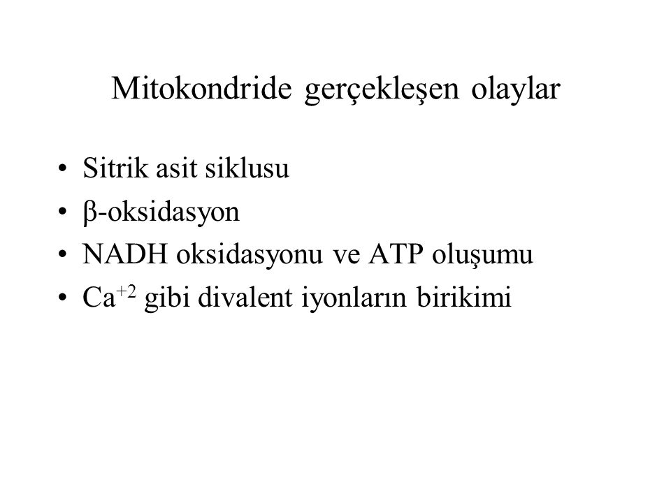 7 gen NADH dehidrogenaz (kompleks I) 1 gen Ubikinon-sitokrom c redüktaz (kompleks III) 3 gen sitokrom c oksidaz (kompleks IV) 2 gen ATP sentetaz (kompleks V) Süksinat ubikinon redüktazın bütün polipeptidleri genomik DNA tarafından kodlanmaktadır.