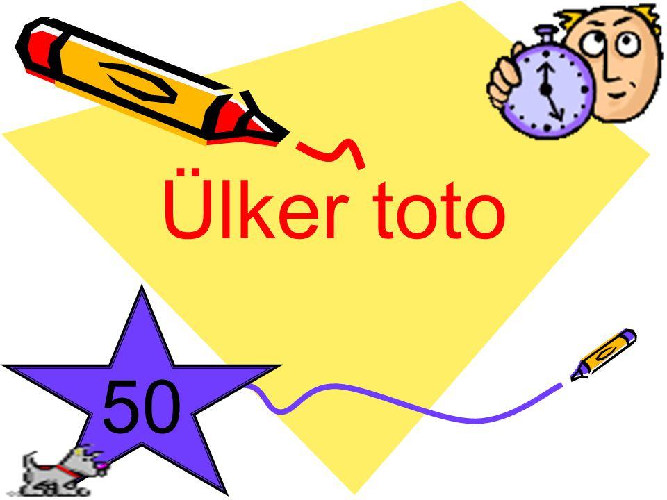 Ülker toto 50