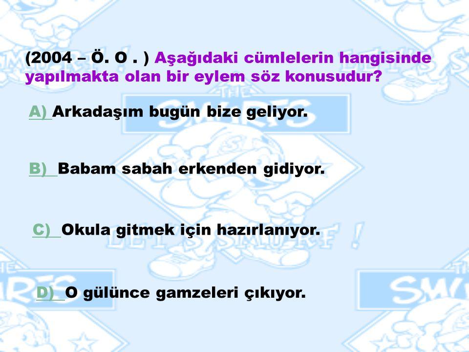 ANLAM KAYMASI Bir kipin başka bir kip yerine kullanılmasına anlam kayması ( zaman kayması ) denir. Akşam Ahmetler bize geliyor. ( gelecek ) Atatürk 23