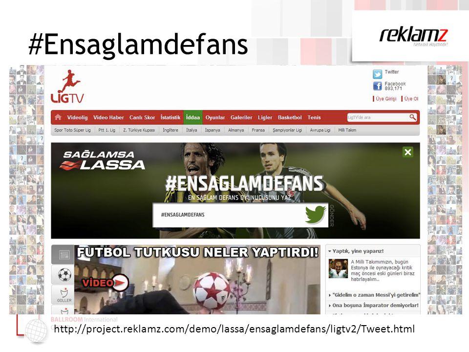 #Ensaglamdefans http://project.reklamz.com/demo/lassa/ensaglamdefans/ligtv2/Tweet.html