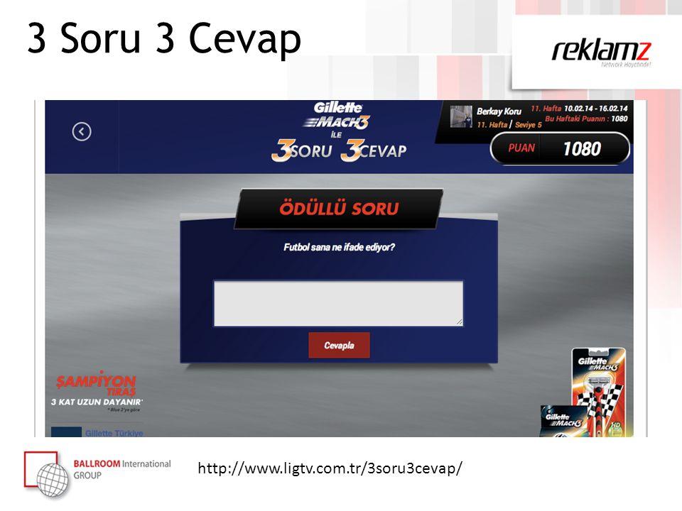 http://www.ligtv.com.tr/3soru3cevap/ 3 Soru 3 Cevap