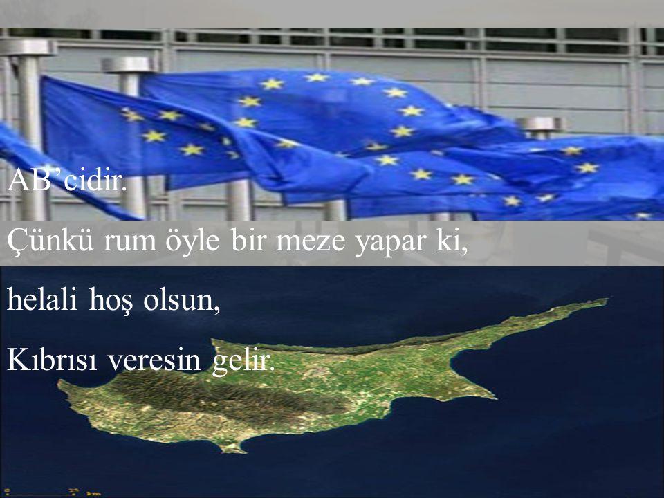 Örgüttür. Ama bölücü değil birleştirici. Türkü de içer, Kürdü de, Lazı da... Sor bak Ermenisi de, Rumu da, Yahudisi de...