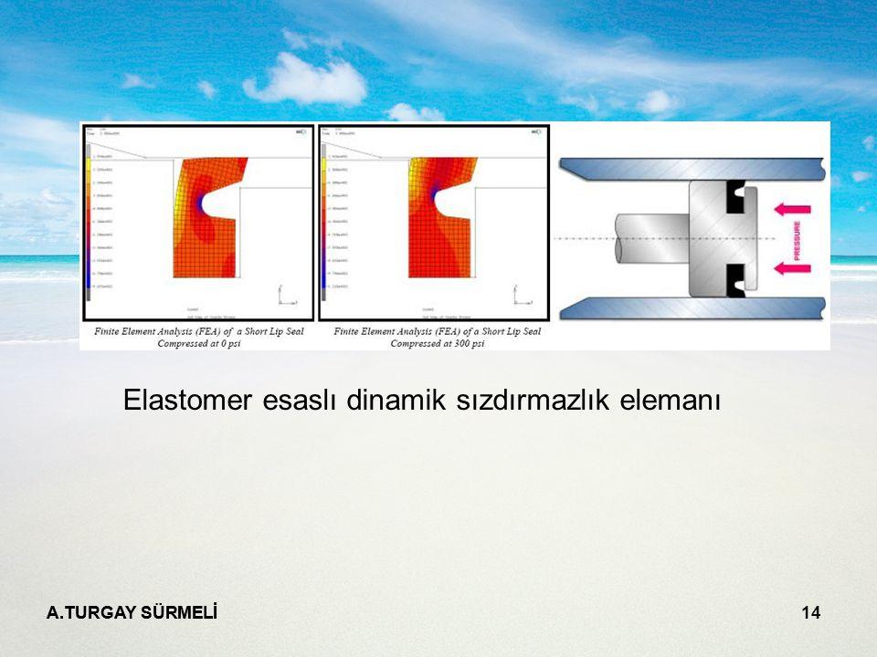 A.TURGAY SÜRMELİ 14 Elastomer esaslı dinamik sızdırmazlık elemanı