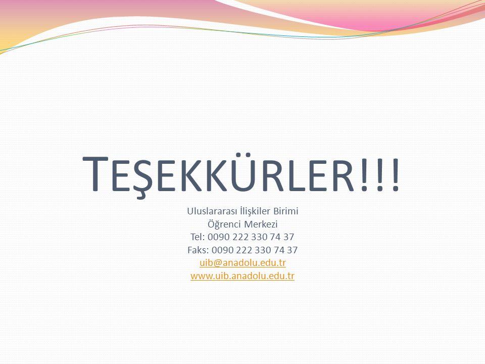 T EŞEKKÜRLER!!.