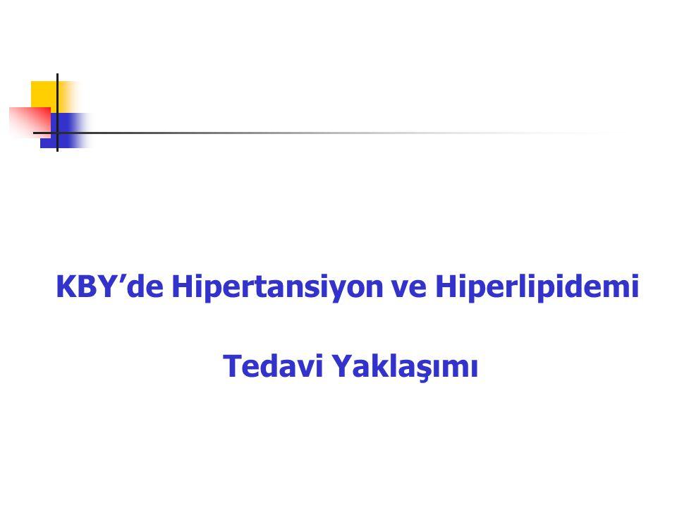 KBY'de Hipertansiyon ve Hiperlipidemi Tedavi Yaklaşımı