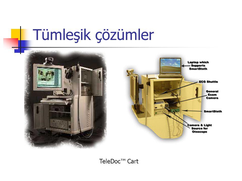 Tümleşik çözümler TeleDoc™ Cart
