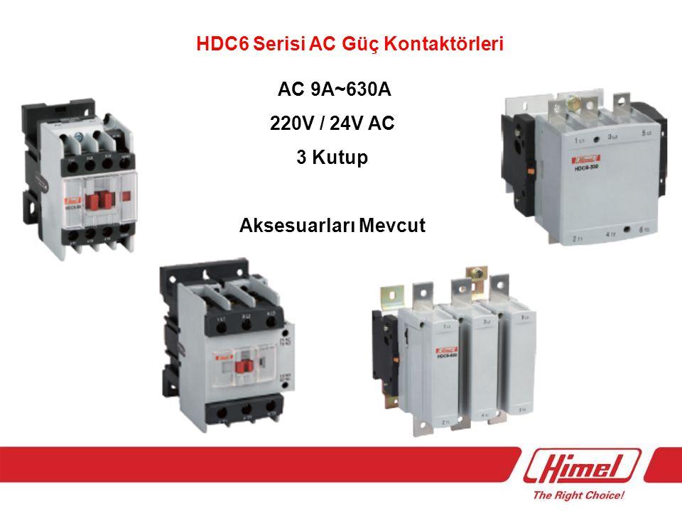 HDR6 Serisi Termik Röleler 0,10A~95A 220V 50Hz