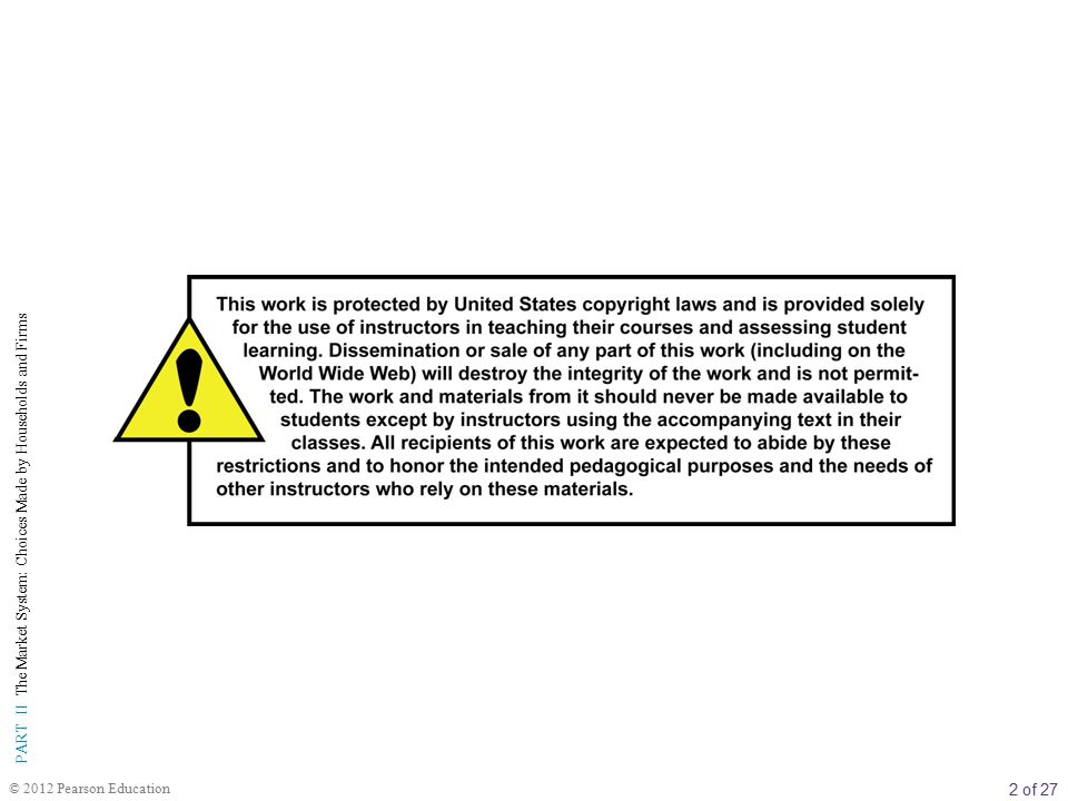 3 of 27 PART II The Market System: Choices Made by Households and Firms © 2012 Pearson Education B Ö L ÜM İ Ç E R İ Ğ İ 10 Girdi Talebi: İş gücü ve Toprak Piyasaları Girdi Talebi: İşgücü ve Toprak Piyasaları Girdi Talebi: Türetilmiş Bir Talep Girdiler: Tamamlayıcı ve İkame Edilebilir Azalan Verimler Marjinal Ürün Geliri İşgücü Piyasaları Bir Değişken Üretim Faktörünün Kullanıldığı Üretim: İşgücü Kısa ve Uzun Dönemde İki Değişken Üretim Faktörünün Kullanıldığı Üretim Çok Sayıda İşgücü Piyasası Toprak Piyasaları Toprağın Kira ve Üzerinde Üretilen Ürün Açısından Değeri Girdi Piyasalarındaki Firmaların Kâr Maksimizasyonu Şartı Girdi Talep Eğrileri Girdi Talep Eğrilerinde Kaymalar İleriye Bakış