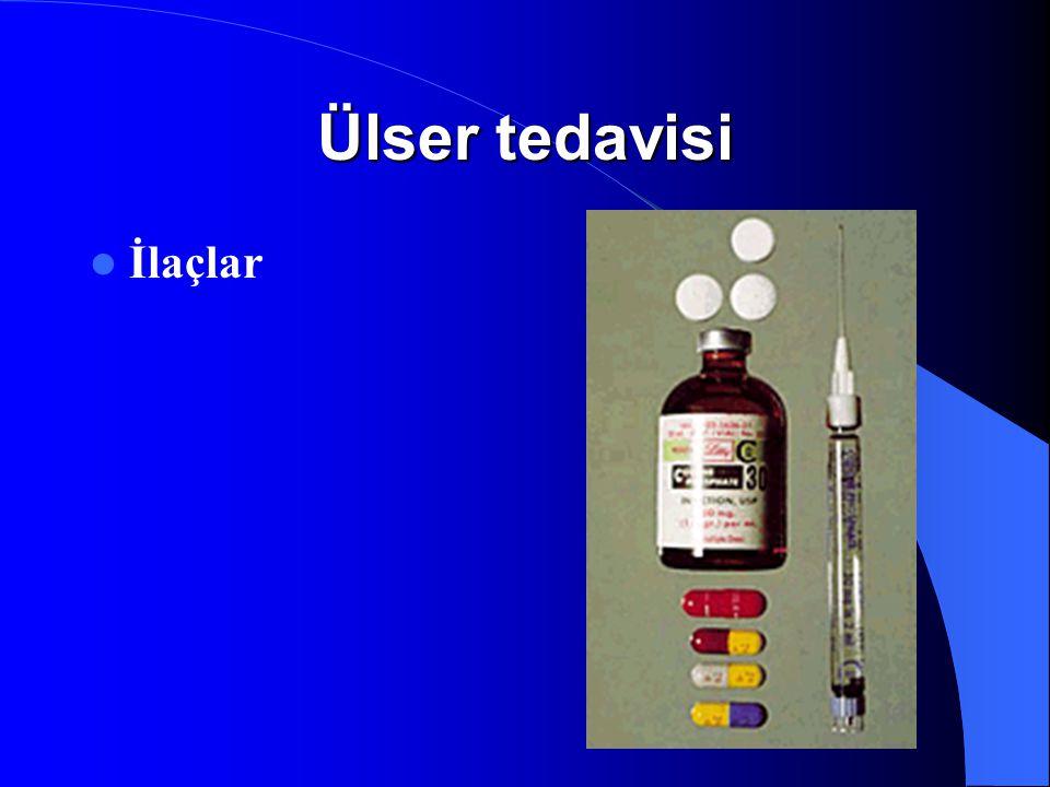 Ülser tedavisi İlaçlar