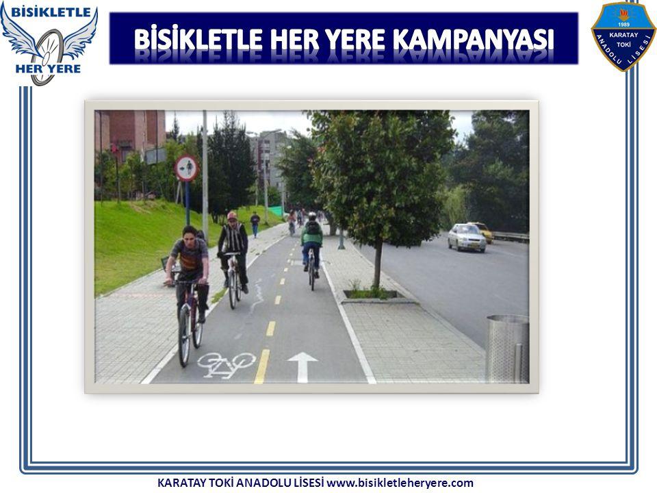 KARATAY TOKİ ANADOLU LİSESİ www.bisikletleheryere.com