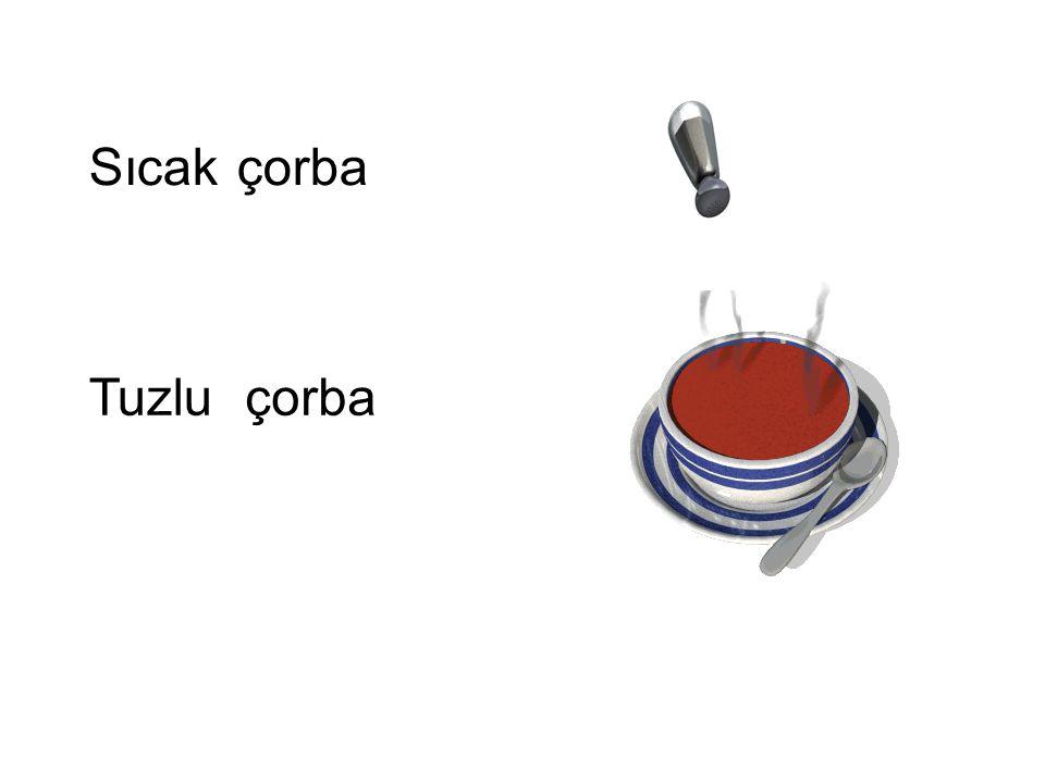 çorbaSıcak çorbaTuzlu