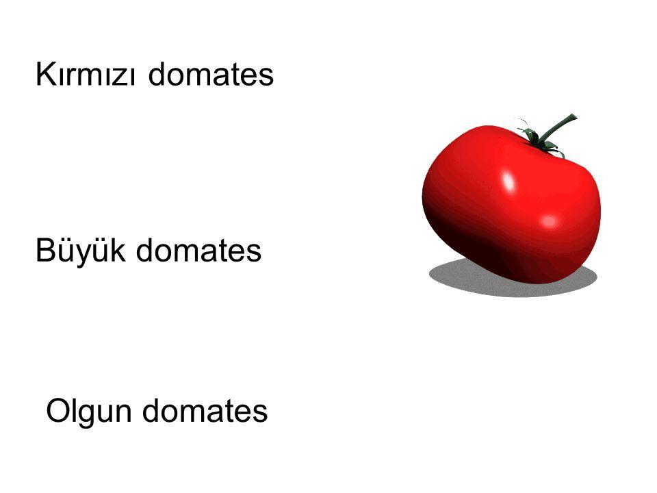 Kırmızı domates Büyük domates Olgun domates