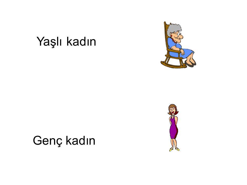 Yaşlı kadın Genç kadın