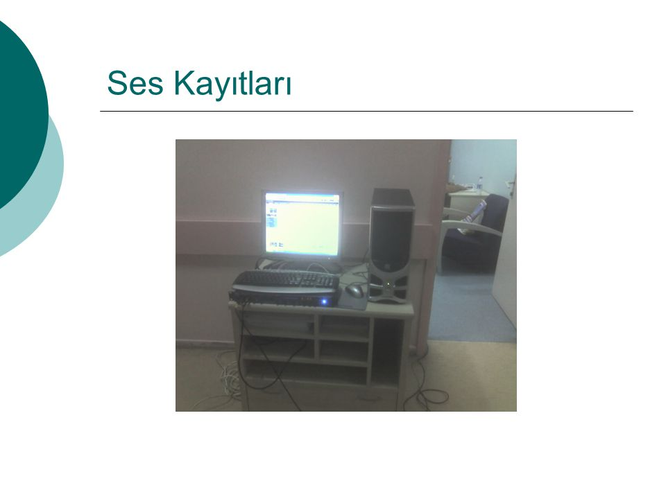 SINIFLANDIRMA Hastalardan alınan ses kayıtları incelenerek,elde edilen bölütler 10 farklı sınıfa ayrılmıştır.