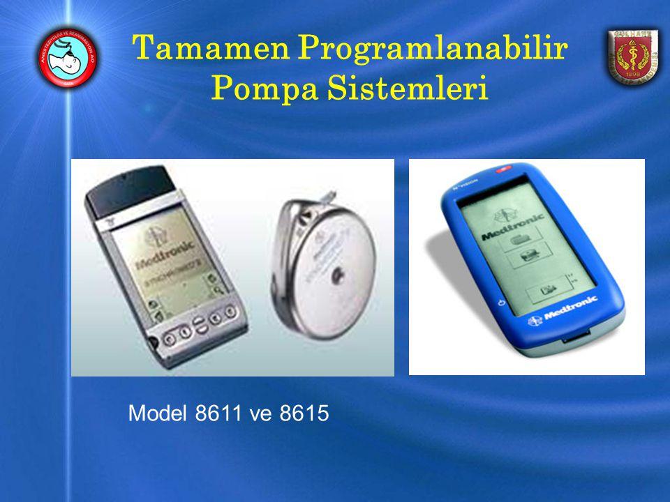 Tamamen Programlanabilir Pompa Sistemleri Model 8611 ve 8615