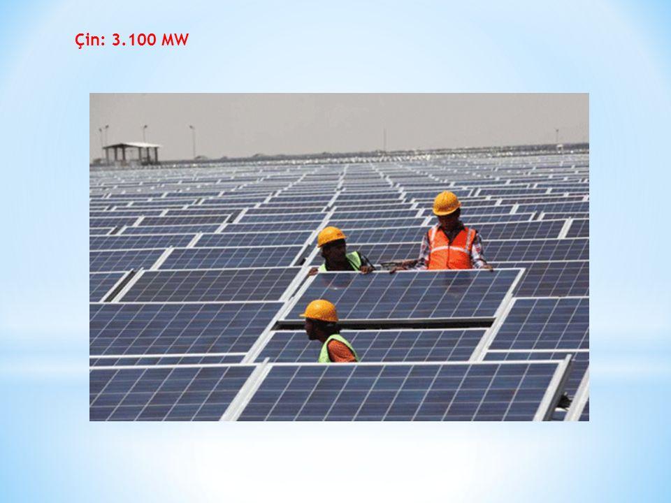 Çin: 3.100 MW