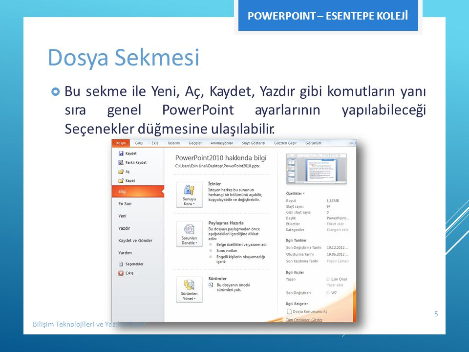 GIRIŞ SEKMESI  Bu sekme işlemlerinin PowerPoint birçok grup PowerPoint'dekitemelbiçimlendirme içerir.Her yapılabileceğiseçenekleri kullanıcısınınsıklıklaihtiyaçduyabileceği seçeneğiniüzerindebulundurur.Bunlar: Pano,Slaytlar,YazıTipi,Paragraf,ÇizimveDüzenleme seçenekleridir.