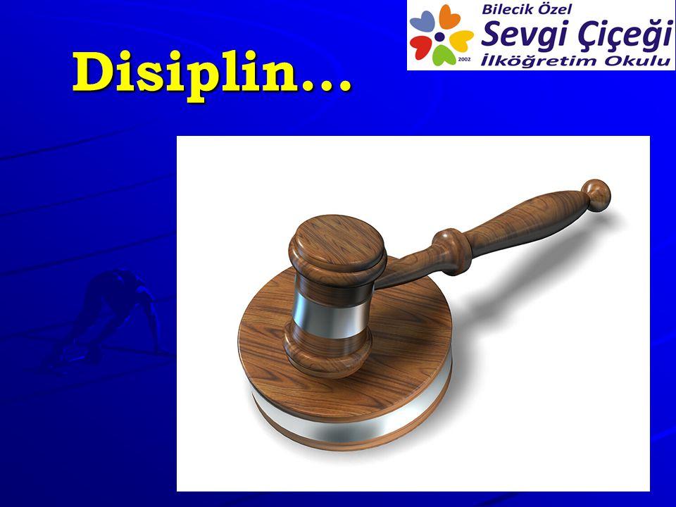 Disiplin…
