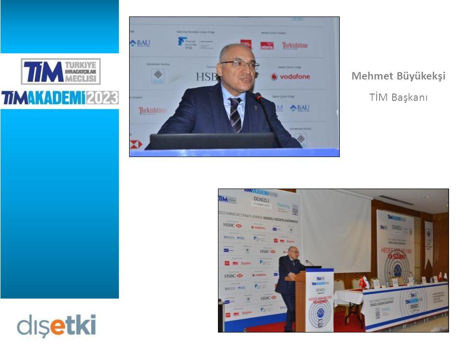 Metin Tabalu, Türkiye İhracatçılar Meclisi Genel Sekreter Yardımcısı, 2023 İHRACAT STRATEJİSİNDE DENİZLİ DEĞERLENDİRMESİ konulu bir sunum gerçekleştirdi.