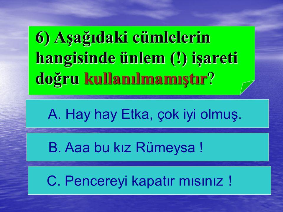 A)Karadeniz cevap