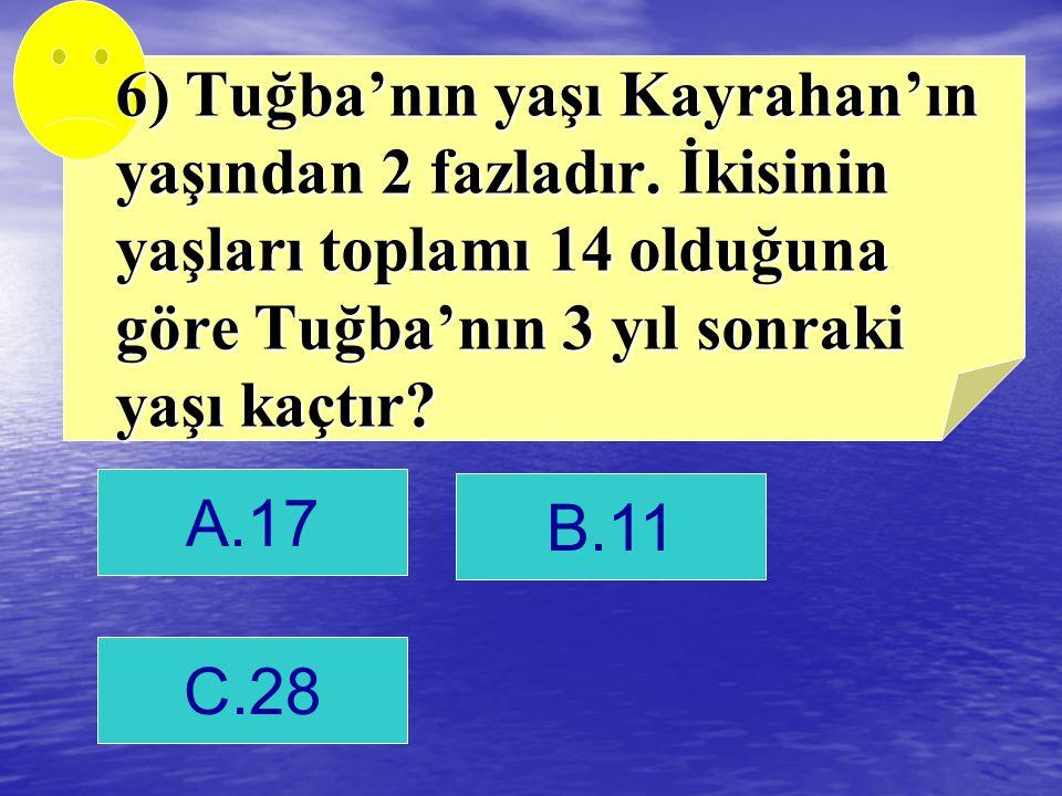 B. 14 cevap
