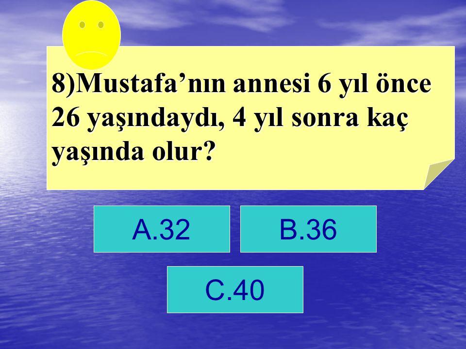 C. 40 cevap