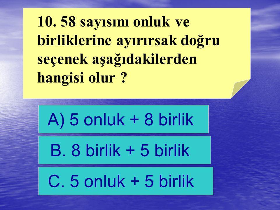 B. 2 cevap