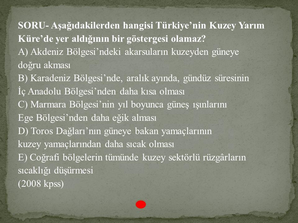 Yalnızca haritadaki bilgilerden yararlanarak aşağıdaki yargılardan hangisine ulaşılamaz? A) 21 aralıkta Başkale'de gündüz süresi Ankara' dan uzundur.