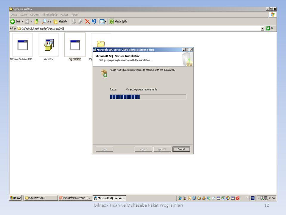 Bilnex - Ticari ve Muhasebe Paket Programları12