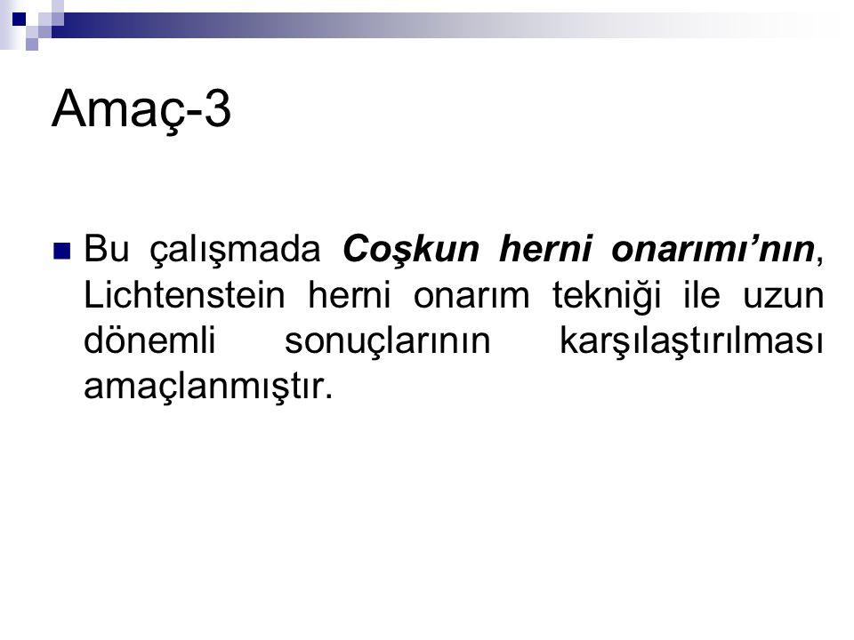 Hastalar ve Yöntem-1 Ankara Numune Eğitim ve Araştırma Hastanesi 3.