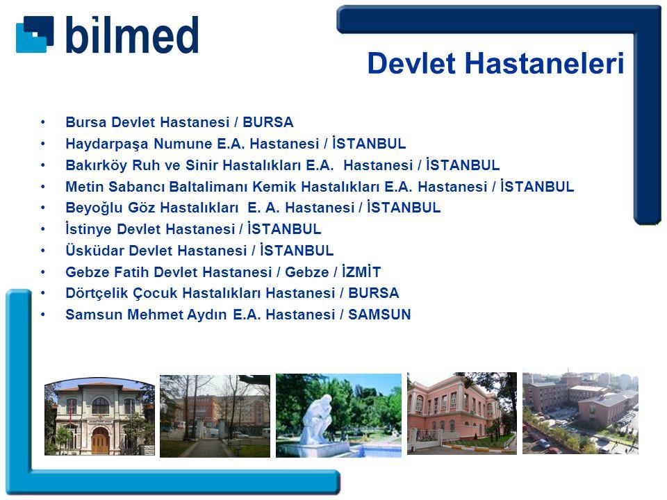 Bursa Devlet Hastanesi / BURSA Haydarpaşa Numune E.A.